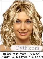 try hairstyles and  hair colors online